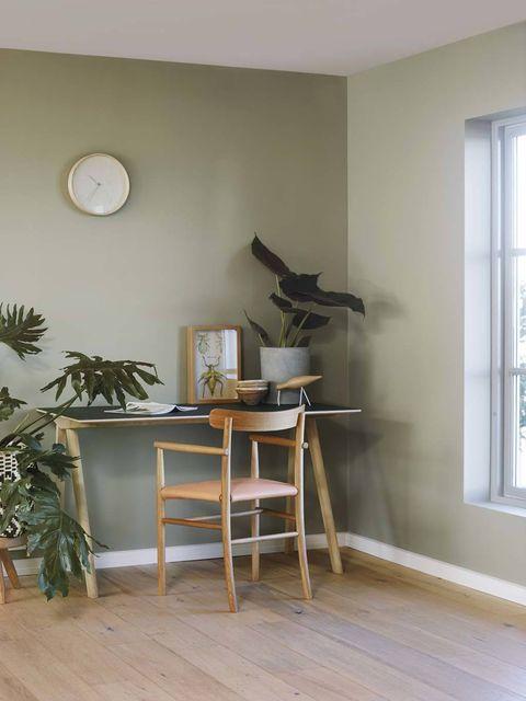 <p>Sube puntos en las decoraciones de las casas esta mezcla tan suave y acogedora. </p>