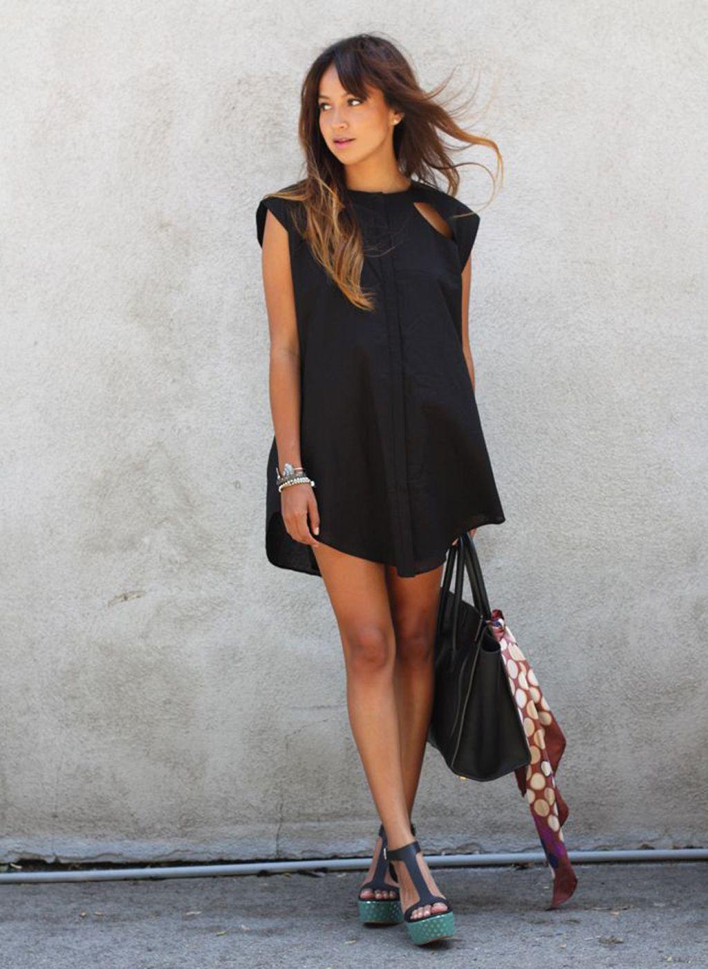 Customizar vestido negro para boda