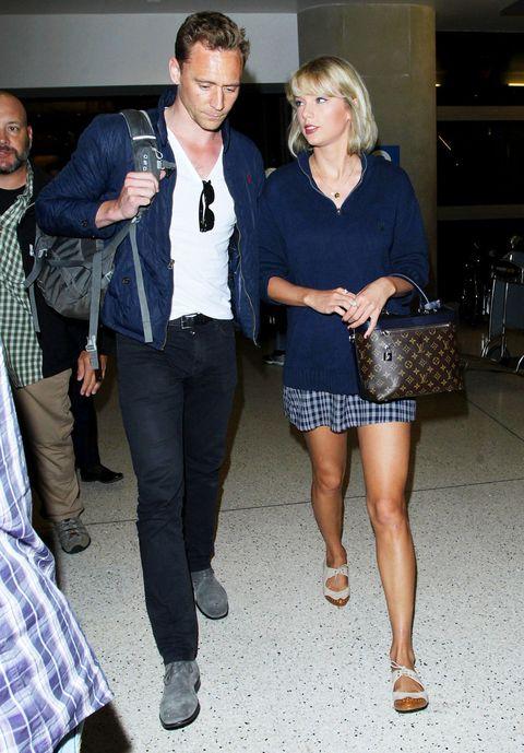 <p>Aunque para pareja de moda la de Taylor Swift y Tom Hiddleston. Llevan muy poco saliendo y ya combinan sus estilismos.&nbsp&#x3B;</p>