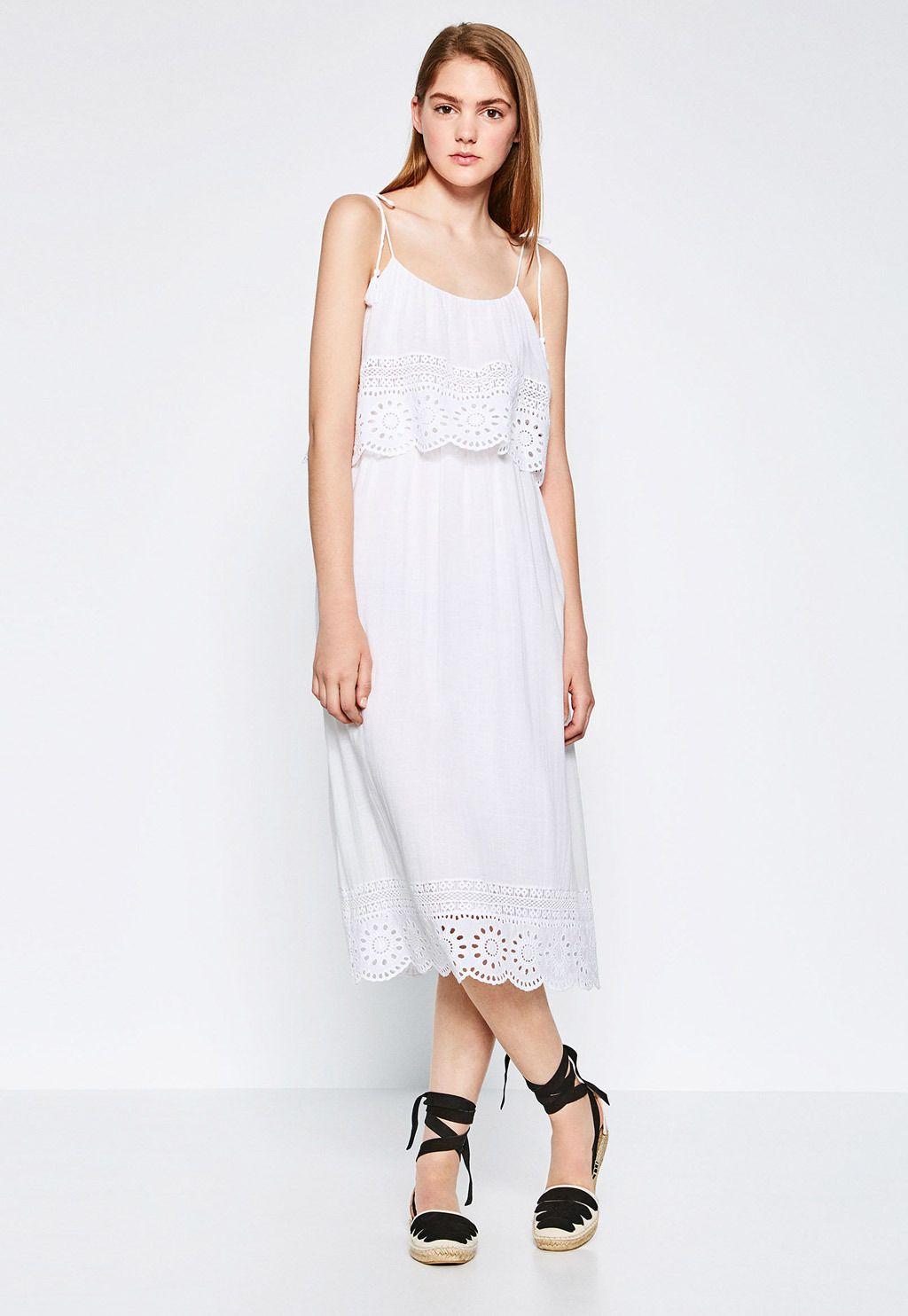 Zara Vestidos Online Vestidos Zara Formales Online Blancos Blancos j5RL4A