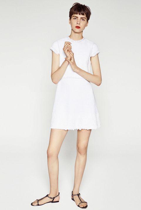 <p>Una boda civil es la ocasión ideal para llevar un vestido como éste. Cuesta 49,95 €.</p>
