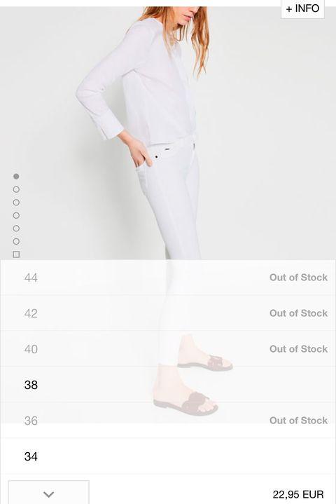 <p>Viendo el éxito de este pantalón (22,95 €).cabe pensar que sienta muy bien y a muy buen precio, y es uno de los ejemplos de la necesidad de la que hablamos.</p>