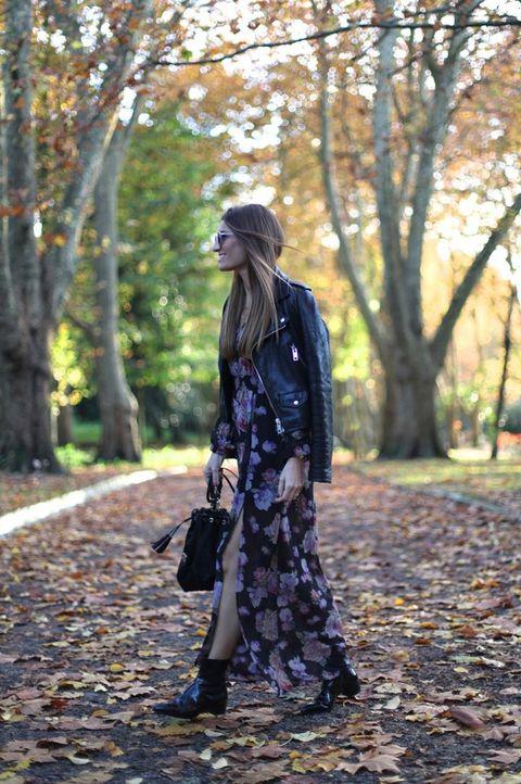 bb221cec9 16 maneras de vestir tu vestido de verano... en invierno
