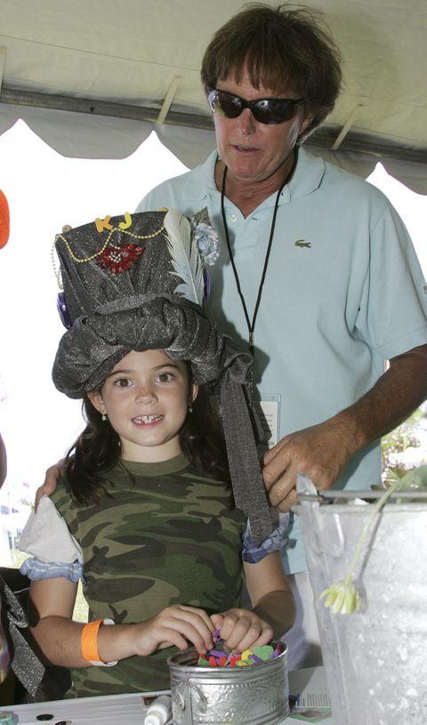 <p>Con ocho años, la pequeña del clan Kardashian-Jenner ya se dejaba ver por los eventos sociales californianos en compañía de su padre, Caitlyn Jenner.</p>