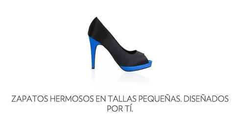 """<p>En <a href=""""https://www.shoesofprey.es/content/small-feet-shoes.html"""" target=""""_blank"""">Shoes of Prey</a> puedes confeccionar tu zapato perfecto, a medida. Ofrece modelos desde la talla 31 para que comprar en la zona de niños sea cosa del pasado.&nbsp&#x3B;</p>"""