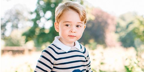 Principe George cumple 3 años