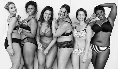 <p>La firma de lencería de 'tallas grandes' <strong>Lane Bryant </strong>ha puesto en jaque a las redes con su campaña en respuesta a los 'ángeles' de Victoria's Secret. Bajo el 'hashtag' #InNoAngel, la marca invita a las mujeres de todo el mundo a subir sus propias fotos y unirse a la iniciativa. En la imagen de la campaña podemos ver a todo un 'dream team' de modelos de talla grande, entre las que destacan Ashley Graham y Candice Huffine.</p>