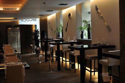 """<p>El restaurante <strong>Bicoca</strong> es un espacio donde el estilo minimalista y el ambiente cálido y acogedor conviven a la perfección. Pregunta por su empanada del día, o prueba sus deliciosas croquetas de jamón ibérico, acompañados por uno de los vinos que componen su extensa bodega.</p><p>¿Su música? Hits del pop-rock y del pop de la mano del divertido grupo <strong>Coconuts</strong>, o bandas como <strong>Ernest</strong> que conquistan a todos los comensales con sus canciones espontáneas. Un restaurante donde el buen ambiente, está asegurado.</p><p><strong>Psss...</strong> También disponen de espacios privados para celebrar cualquier evento.</p><p>Más información <a href=""""http://www.restaurantebicoca.com/labodega.html"""" target=""""_blank"""">www.restaurantebicoca.com</a></p>"""