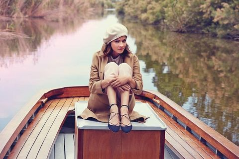 <p>&nbsp;</p><p>Alba Galocha aporta su estilo aventurero en la campaña de Mustang Originals.</p>
