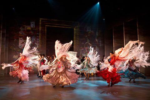 """<p>La colección de cuadros que Sorolla creó por encargo de la Hispanic Society de Nueva York en 1911, Visión de España, es la inspiración para el último espectáculo del Ballet Nacional. Un trabajo en el que toman protagonismo los bailes regionales, el flamenco y la escuela bolera. Con este repertorio que la compañía presenta en gira, disfrutarás de una auténtica fiesta de la danza. La magia se completa con el precioso vestuario diseñado por Nicolás Vaudelet.</p><p><strong>Auditorio El Greco, Toledo, 7 y 8 de marzo. Teatre de La Llotja, Lérida, 21 de marzo, <a href=""""http://balletnacional.mcu.es"""" target=""""_blank"""">balletnacional.mcu.es</a>.</strong></p>"""