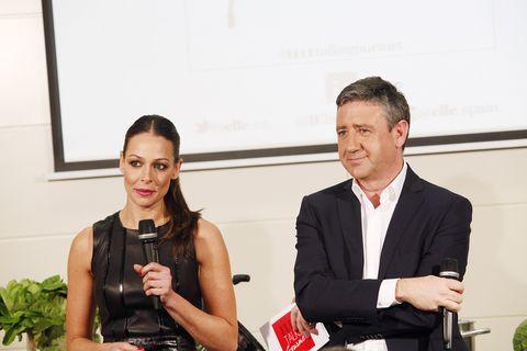<p>Eva González y Ramón Arangüena, un clásico de nuestros ELLETalks, fueron los encargados de presentar a todos los ponentes.</p>