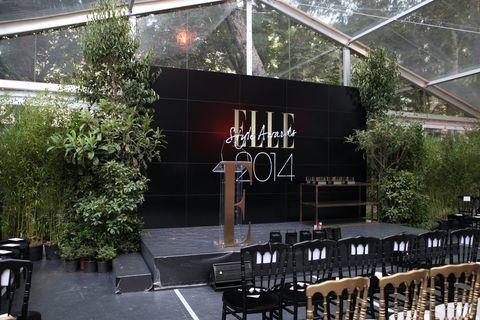 <p>Así se dispuso la decoración antes de la entrega de los <strong>Elle Style Awards</strong>.</p>