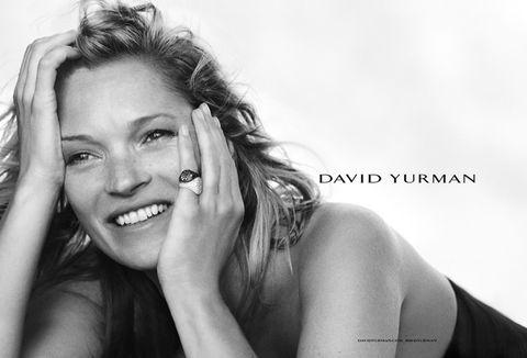 <p>La mejor muestra de esta felicidad en auge es la imagen de <strong>Kate Moss</strong> en la campaña de<strong> David Yurman.</strong></p>
