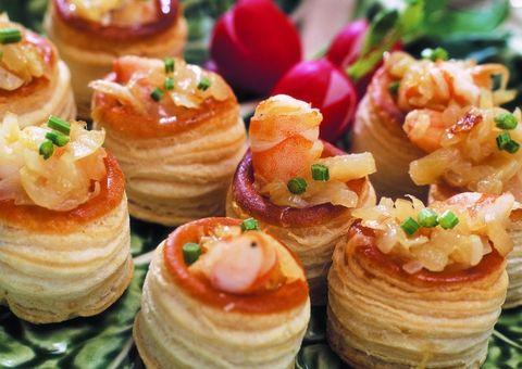 Food, Cuisine, Finger food, Dessert, Baked goods, Canapé, Dish, Ingredient, Recipe, Garnish,