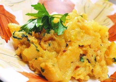 Patatas A Lo Pobre Revueltas Con Huevos
