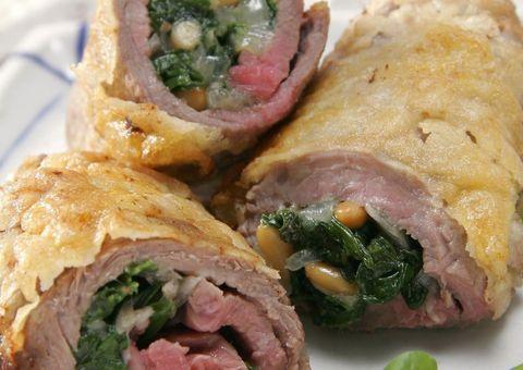 Food, Cuisine, Ingredient, Meat, Dish, Recipe, Breakfast, Finger food, Sandwich wrap, Stuffing,