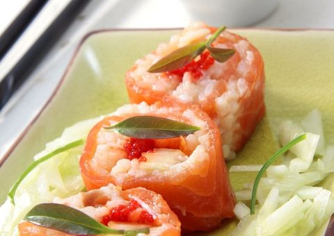 Food, Cuisine, Ingredient, Produce, Dishware, Dish, Rice, Recipe, Garnish, Serveware,