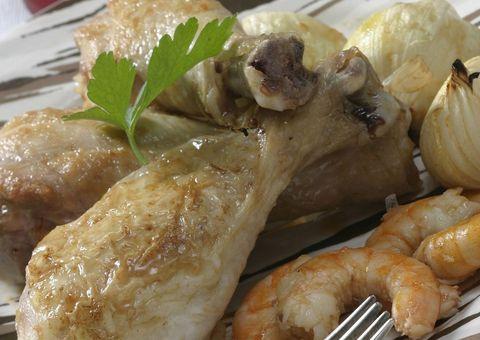 Food, Cuisine, Ingredient, Dish, Recipe, Meat, Cooking, Kitchen utensil, Chicken meat, Fines herbes,