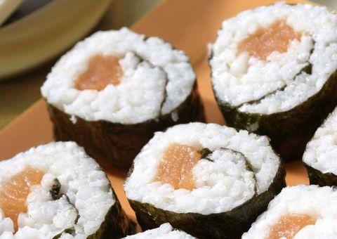 Cuisine, Food, White, Sushi, Dish, Ingredient, Rice, Recipe, Black, Snow,