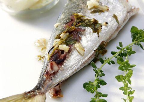 Food, Cuisine, Ingredient, Dish, Finger food, Dishware, Fines herbes, Herb, Seafood, Fish,