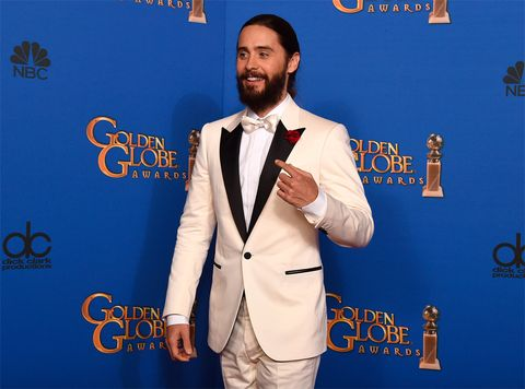 <p>'<strong>Je suis Charlie</strong>' fueron las primeras palabra de <strong>Jared Leto</strong> cuando se subió al escenario para entregar el premio a la Mejor Actriz de Reparto.</p>