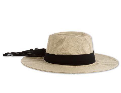 <p>Sombrero XXL con cinta negra (6,90 €).</p>