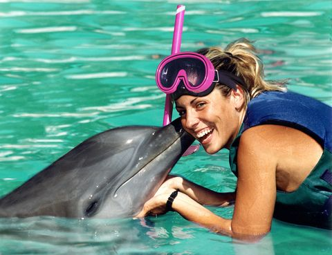 """<p>Si tu pareja es amante de los animales, pon rumbo al Caribe y vive la experiencia única de nadar con delfines. El delfinario <a href=""""http://www.dolphinislandpark.com/es/"""" target=""""_blank"""">Dolphin Island Park</a> se encuentra en una isla de República Dominicana situada a media milla de la costa y ofrece diferentes paquetes para disfrutar de estos acuáticos amigos.</p>"""