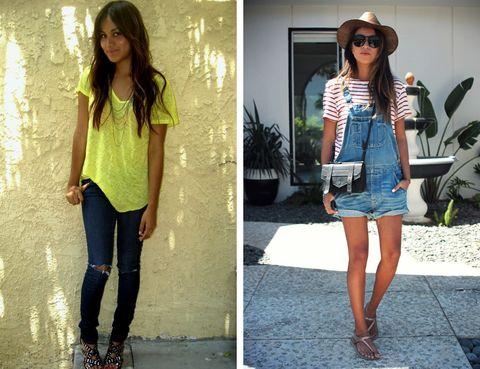 <p>Es una de las más famosas y admiradas por su estilo impecable. Cuando empezó en 2009 era una adolescente que mostraba looks de lo más casual y 'normalitos'.</p>