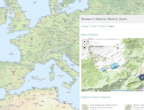 """<p>Es la fuente por excelencia de los amantes del ciclismo cuando quieren consultar y crear su próximo itinerario. Completa y muy fácil de usar, en <a href=""""http://www.bikemap.net/en/regional/Spain/"""" target=""""_blank"""">Bikemap</a> encontrarás cientos de rutas que forjan una línea desde tu ciudad... hasta ese punto del planeta con el que sueñas.</p><p>El manual virtual que debes consultar si quieres asegurarte obetener resultado. Rutas online alrededor del globo que atraviesan montañas, recorren kilómetros en la carretera o descubren recovecos distintos en cada ciudad. <strong>¿Y lo mejor?</strong> Son itinerarios que comparte la gente que ya los ha realizado para que el resto de usuarios, pueda simplemente consultar, o también hacer. ¡100% fiable!</p>"""