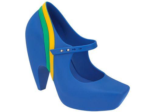<p>La bandera de Brazil es el emblema de <strong>Melissa Ginga</strong>, que se ha fabricado en homenaje a este gran país.</p>