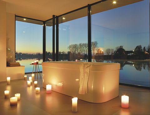<p>La bañera <i>Happy D,</i> de Sieger Design para Duravit, 5.148 €. </p>