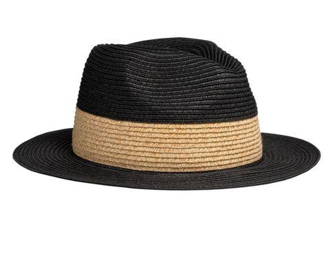 <p>Este sombrero de estilo panameño en bicolor, de <strong>& Other Stories</strong> (19 €), será uno de tus mejores aliados.</p>