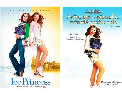 <p> <strong>Título original:</strong> 'Ice Princess'  <br /> <strong>Título en castellano:</strong> 'Soñando, soñando... triunfé patinando'<br /><strong>Propuesta ELLE.es:</strong> 'La princesa del hielo'.</p>