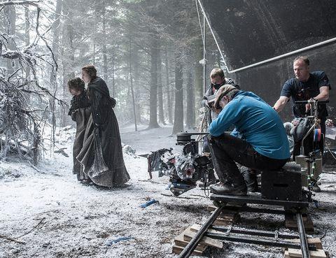 <p>Una imagen del rodaje de la sexta temporada.</p>
