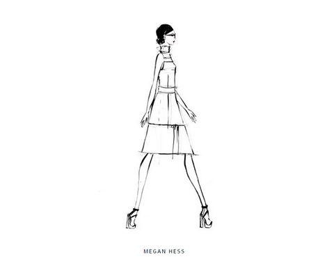 <p>La sofisticada<strong> Megan Hess.</strong></p>