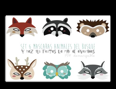 "<p>Para las más habilidosas, ahora podéis descargar estas preciosas máscaras de <a href=""http://papilladefruta.blogspot.com.es/2014/01/celebra-fiestas-infantiles-animadas.html"" target=""_blank"">Papilla de frutas</a>.&nbsp;</p>"