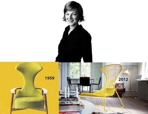 <p> Todo un clásico de Ikea, la butaca <i>Cavelli</i> de Bengt Ruda, fue la musa inspiradora de la alemana <strong>Wiebke Braasch</strong> para crear su estilizado sillón de acero <i>PS,</i> una pieza apilable, estilizada y que <br />vale para interior y exterior. ¡Divina!</p>