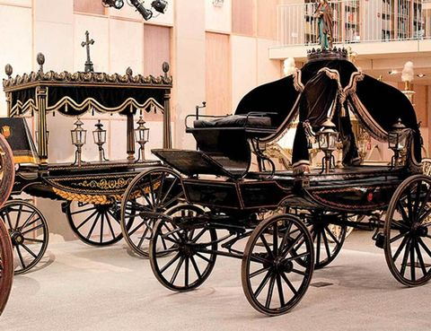 Museo de Carruajes Fúnebres, en Barcelona.
