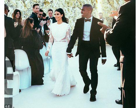 τα πιο διάσημα νυφικά της ιστορίας Kim Kardashian