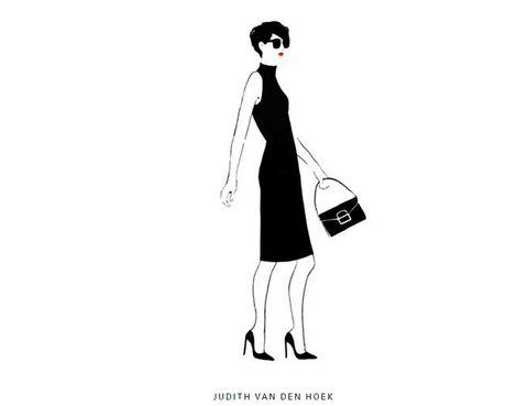 <p>Ilustración minimalista de<strong> Judith van den Hoek.</strong></p>