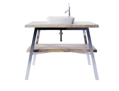 <p>Este mueble es la estrella de la colección <i>Cape Cod,</i> de Starck para Duravit, 4.500 €. El lavabo es el <i>Bowl Starck</i>, 496 €</p>