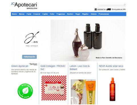"""<p>La tienda de referencia de belleza nicho catalana apuesta en su versión online por las <strong>firmas eco</strong> y por las<strong> favoritas de las 'celebrities'</strong> como los son&nbsp;Rodial, Sepai, l'Artisan Parfumeur o Aesop.</p><p>También puedes adquirir la cosmética de culto de <a href=""""http://www.jcapotecari.com/"""" target=""""_blank"""">JC Apotecari </a>en su tienda física de&nbsp;<strong>Barcelona</strong>, te encantará.&nbsp;</p>"""