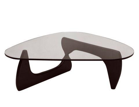 <p>Nacida en los años 40 de la mano del escultor Isamu Noguchi, la mesa homónima sufre numerosas réplicas. Está editada por Vitra. Inigualable.</p>
