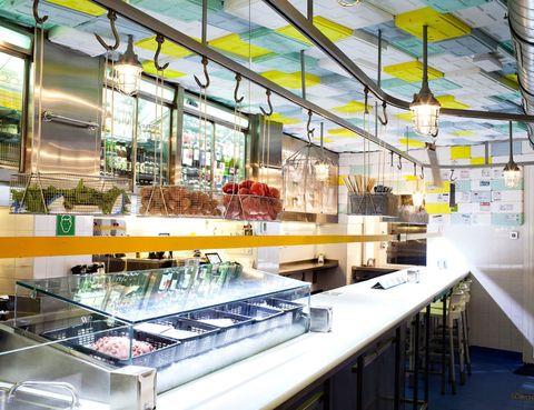 <p>Su espíritu combina el mejor producto con el ambiente más informal y desenfadado. Está en la madrileña calle Ponzano, 11.</p>