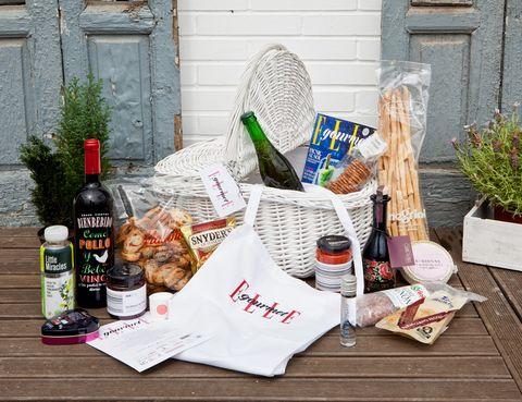 <p>Todos los productos gourmet se encontraban dentro de una cesta de <strong>Zara Home</strong>. </p>
