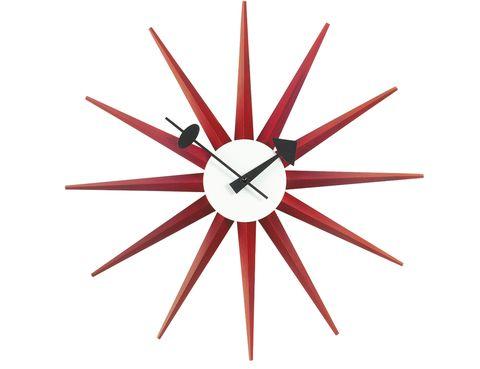 <p>Reloj <i>Sunburst</i>, de George Nelson, en Vitra, 334 €.&nbsp;</p>