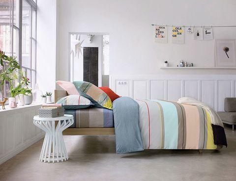 <p>Juego de cama Panorama, de Olivier Desforges, desde 83,40 € la funda nórdica. </p>