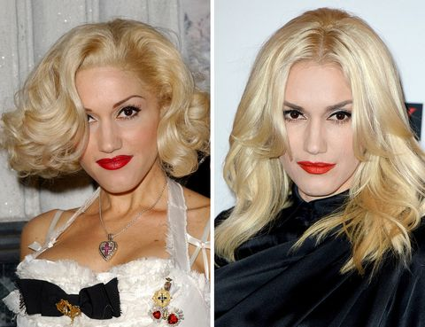 <p>Otra fanática de las cejas reducidas a su mínima expresión era la cantante <strong>Gwen Stefani</strong>. Sus rasgos parecen mucho más equilibrados con unas cejas un poco más gruesas.</p>