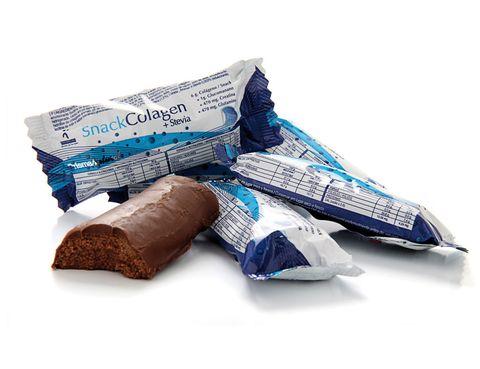 <p>Barritas de efecto regenernante 'Snack Collagen', para regenerar y oxigenar las células musculares. De <strong>Prisma Natural</strong> (1,50 €).</p>