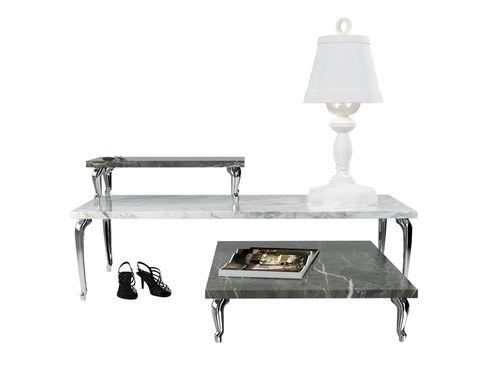 """<p>Usa una mesa para cada ocasión... o mejor, varias. Refinadas, prácticas y con el típico punto de humor de Marcel Wanders. <i>Bassotti coffe tables</i>, de Moooi. <a href=""""http://www.moooi.com"""" target=""""_blank"""">www.moooi.com</a></p>"""